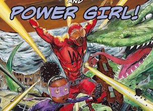 Photo of BOOK REVIEW: 'The Adventures of Wrong Man and Power Girl!' by C. Alexander London, Illustrated by Frank Morrison