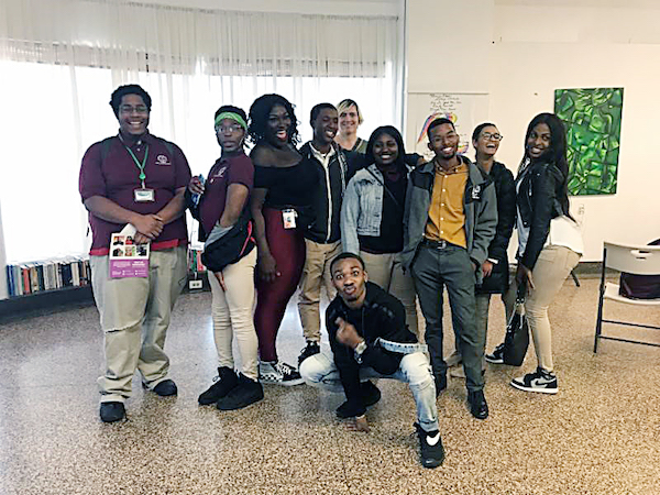 "Members of ""Connections"" (Courtesy of DCPS)"