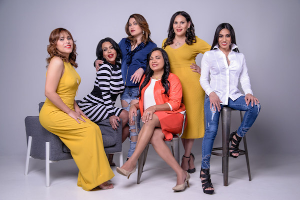 Members of the Latina transgender community in Washington, D.C. (Courtesy of the D.C. Department of Health)