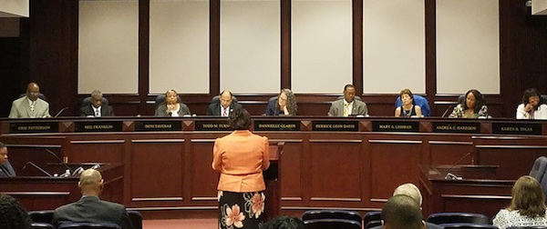Prince George's County Council approved a nearly $4.1 billion budget for fiscal 2019 — the largest-ever budget without a tax increase — during a May 24 council meeting. (William J. Ford/The Washington Informer)