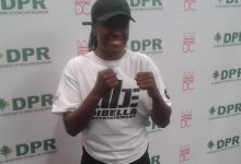 Photo of Tiara Brown, Boxer and Police Officer, Signs with DiBella Entertainment