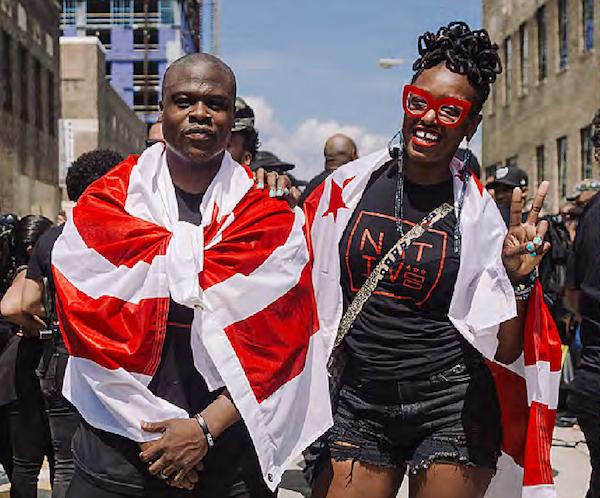 Photo of 'We're Not Tourists': Hundreds Gather at Union Market to Protest Washingtonian Magazine Photo Shoot