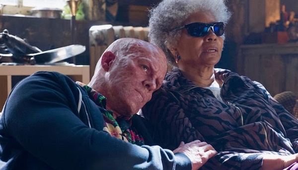 "Ryan Reynolds (left) and Leslie Uggams star in ""Deadpool 2."" (20th Century Fox)"