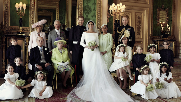 Photo of The Royal Wedding Ceremony Included the African-American Experience