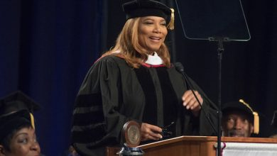 Photo of Queen Latifah Inspires Strayer Grads