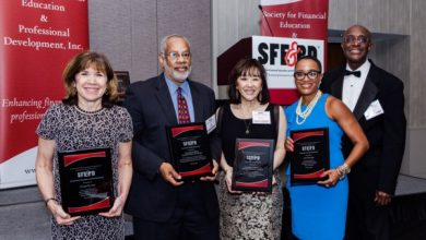 Photo of Financial Literacy Organization Honors Industry Leaders