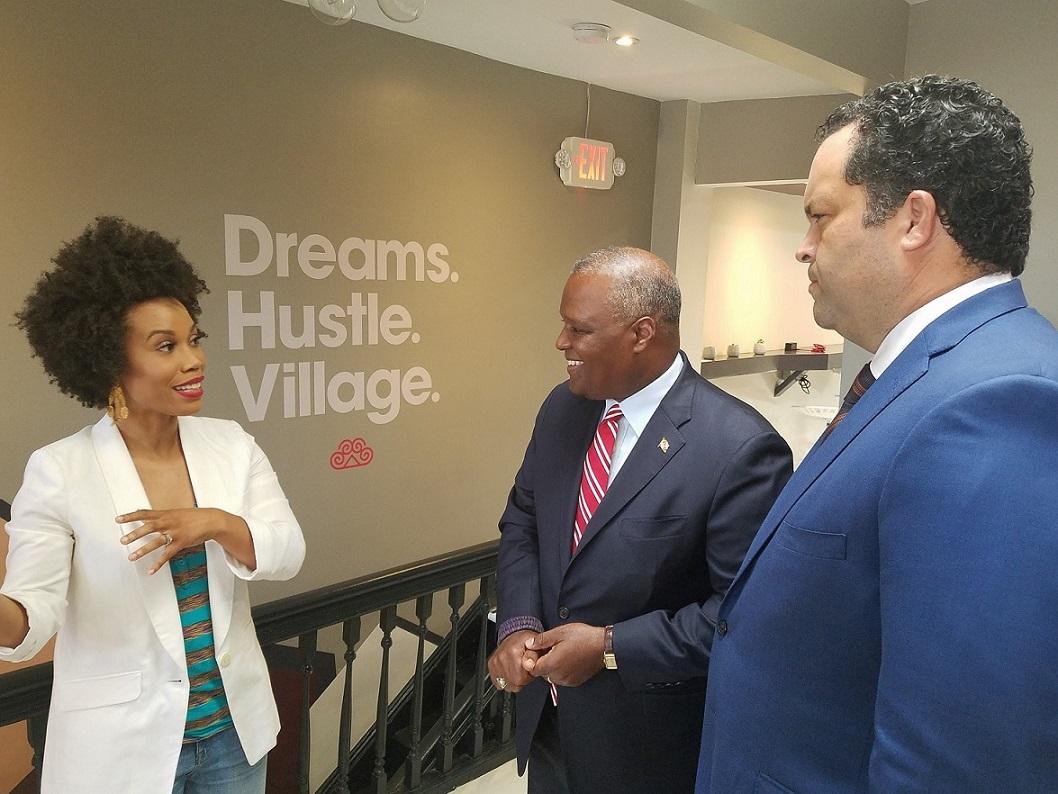 Photo of Ben Jealous and Rushern Baker Promote Economic Inclusivity