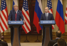 Photo of Trump Won't Blame Putin for Election Meddling