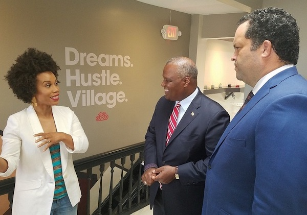Photo of Jealous Promotes Economy Inclusiveness at Hyattsville Business