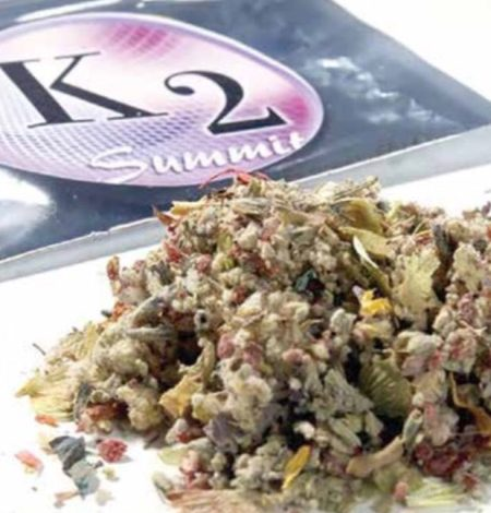 K2, the synthetic cannabinoid (Courtesy of HowStuffWorks.com)