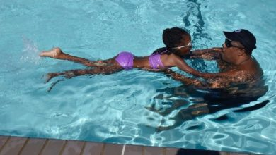 Photo of Children Learn Water Safety at Swim Camp