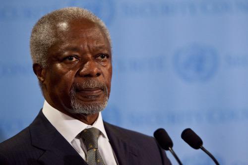 Photo of Kofi Annan, Former UN Secretary-General, Dies at 80