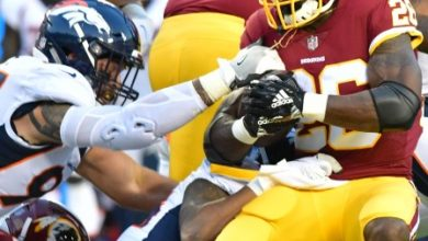 Photo of Peterson Shines in Debut But Redskins Fall To Broncos
