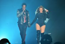Photo of Jay-Z: Sitting with Beyonce for Super Bowl National Anthem Not a Political Statement