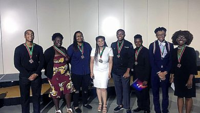 Photo of Prince George's Students Win Medals at NAACP Convention