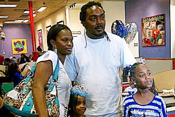 Gregory Hill and his family (Courtesy photo)