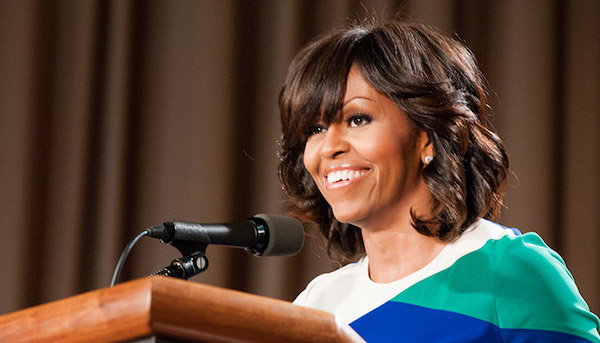Photo of Michelle Obama Joins Voter Registration Drive for the Midterms