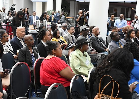Participants gather during Day 1 of the Congressional Black Caucus Foundation's 2018 Annual Legislative Conference in D.C. on Sept. 12. (Roy Lewis/The Washington Informer)