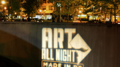 Photo of Art All Night DC: Nuit Blanche, Dipped in Mumbo Sauce