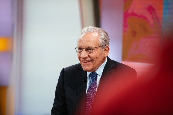 Photo of Bob Woodward Resolute: 'Trump Has Unleashed War on Truth'