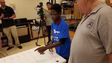 Photo of Md. Students Connect STEM, Football at Science Center