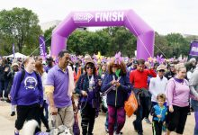 Photo of Families, Friends Walk with Love for a Cure