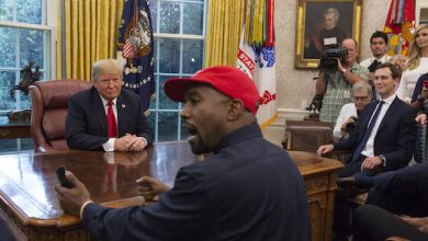 Photo of Kanye West Blasted for Trump Meeting: 'Repulsive,' 'Minstrel Show'