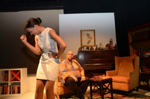 """The cast, crew and creative team of Restoration Stage, Inc. have returned to the stage with a revival of their acclaimed production, """"Chocolate Covered Ants,"""" now appearing at THEARC WEST Theater in Southeast through Oct. 28. (Courtesy of Kianga Lee)"""