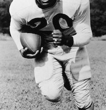 Photo of George Taliaferro, 91, First Black Player Drafted by NFL, Dies