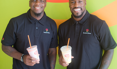 Photo of Vernon Davis, Mohamed Sanu to Open Jamba Juice Stores in N. Virginia