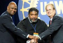 Photo of UAW Leader on Civil Rights and Black Labor
