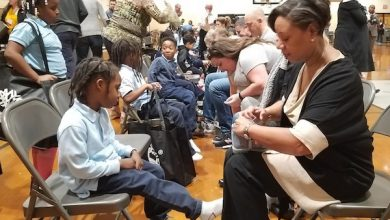 Photo of Timberland Donates Footwear to Students in Prince George's County