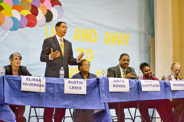 Candidates have their say. (Roy Lewis/The Washington Informer)