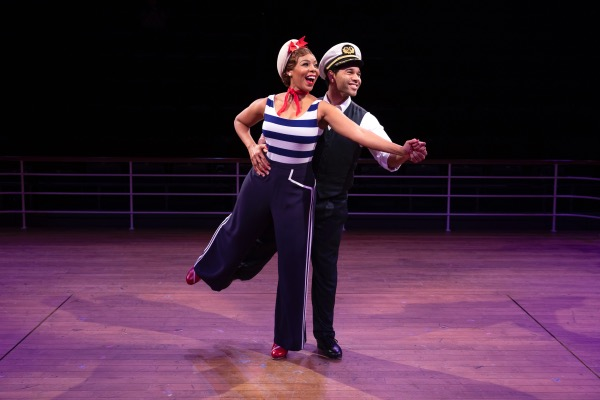 "Soara-Joye Ross (left) and Corbin Bleu star in ""Anything Goes"" at Arena Stage at the Mead Center for American Theater. (Courtesy of Maria Baranova)"