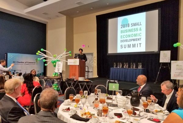 The Department of Small and Local Business Development (DSLBD) is streamlining the Certified Business Enterprise (CBE) Certification Program in an effort to help small businesses thrive. (Photo courtesy Twitter)