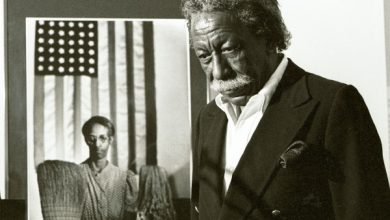 Photo of Gordon Parks Exhibit on Display at National Gallery of Art