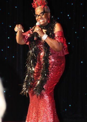 "Ms. Senior DC Phyllis Jordan performs Eartha Kitt's ""I Wanna Be Evil"" during the Ms. Senior America Pageant in Atlantic City, N.J., held Oct. 14-19."