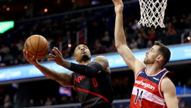 Photo of Lillard Hits for 40, Leads Blazers over Wizards