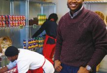 Jermarkus Booker, Donor Engagement Manager at Martha's Table (Lafayette Barnes IV/The Washington Informer)