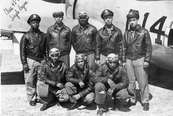 Members of the Tuskegee Airmen (Courtesy of the Smithsonian)
