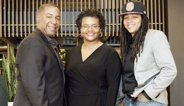 The co-founders of Black Restaurant Week (from left): Furard Tate, Erinn Tucker and Andra Johnson (Courtesy of Keon Green/KTG Works)