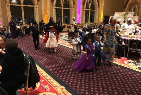 D.C.'s Galbraith African Methodist Episcopal Zion Church celebrates its 175th anniversary at the Camelot in Upper Marlboro, Maryland, on Nov. 30. (Hamil R. Harris/The Washington Informer)