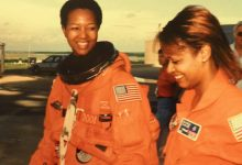 Sharon Caples McDougle (right) and Mae Jemison (Courtesy of NNPA Newswire)