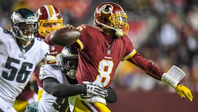 Photo of Redskins Blanked by Eagles in Season Finale