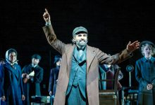 """Ben Cherry stars as Lemml in the Arena Stage production """"Indecent."""" (Photo by C. Stanley Photography via Arena Stage)"""