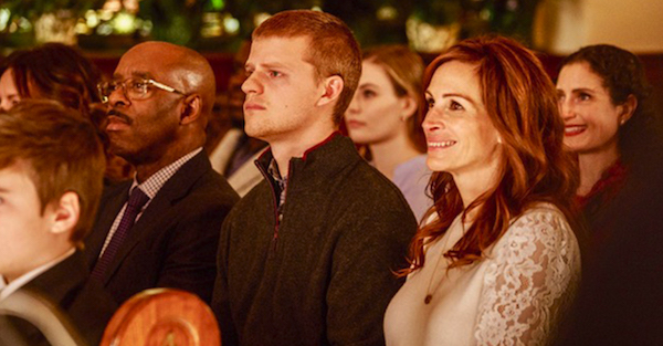 "Courtney B. Vance, Lucas Hedges and Julia Roberts in ""Ben Is Back"""