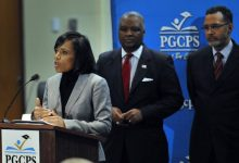 Photo of New Prince George's School Board Members Sworn In