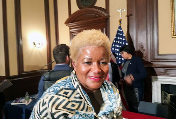 Beverly Perry is a senior adviser to D.C. Mayor Muriel Bowser and her point person on D.C. statehood. (James Wright/The Washington Informer)