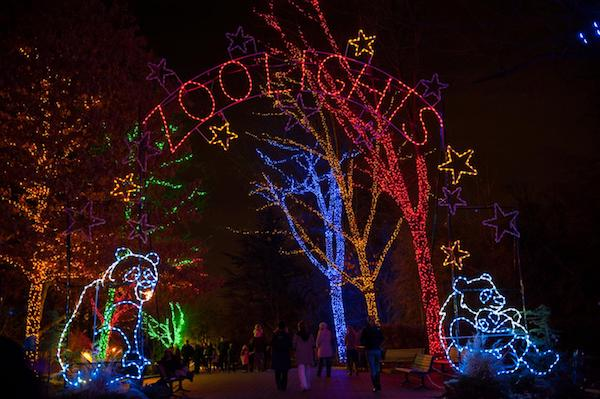 ZooLights at the Smithsonian's National Zoo is wilder than ever and a perfect holiday event for everyone in the family. (Courtesy of Smithsonian)