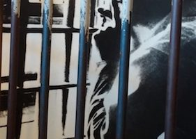 The bars to the cell King was housed in when he penned The Letter from the Birmingham Jail make up one of the exhibitions at the King Center. (Shantella Y. Sherman/The Washington Informer)